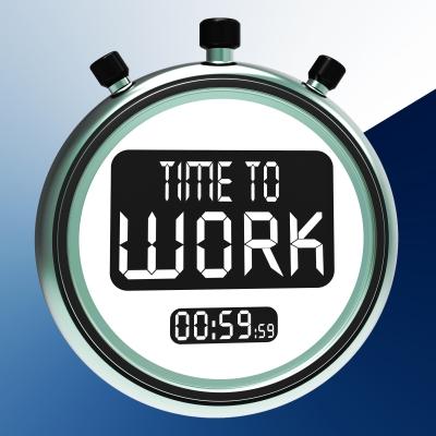 """Time To Work Message"" by Stuart Miles/FreeDigitalPhotos.net"