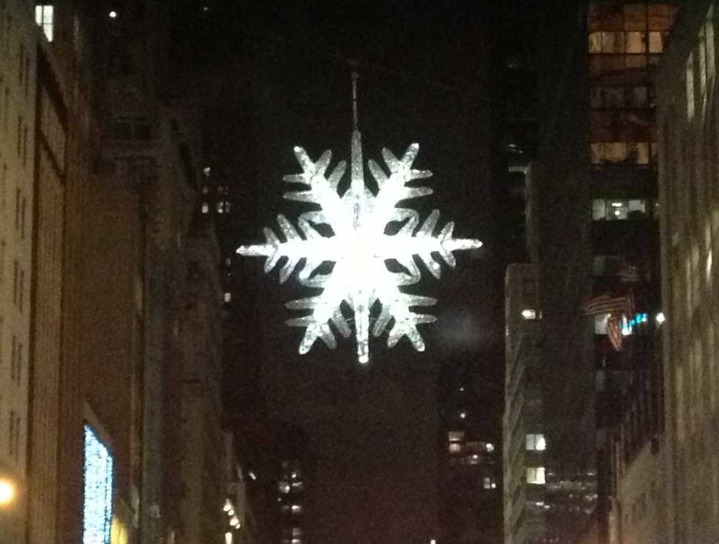 Swarovski Crystal Star 5th Ave.