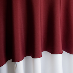 Burgundy  Available In: 90x132 and 90x156