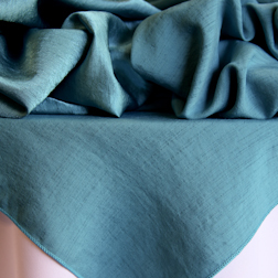 Turquoise Bengaline  Only available in toppers