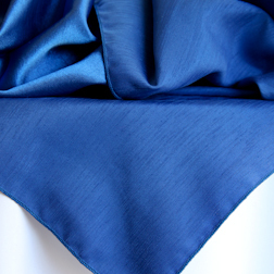 Royal Blue Bengaline  Also available in rounds
