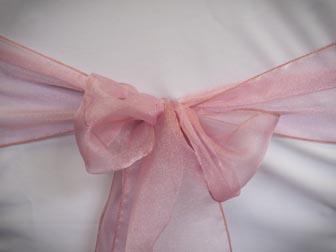 Medium Pink Organza