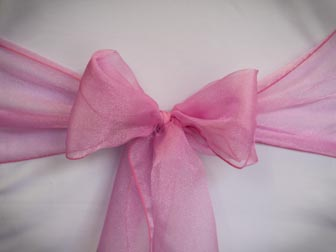 Hot Pink Organza