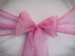 Hot Pink Organza Sash
