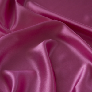 Hot Pink Satin Topper