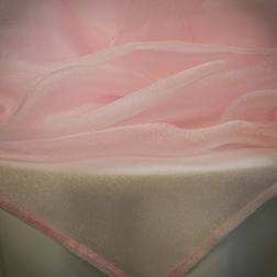 Light Pink Sparkle Organza