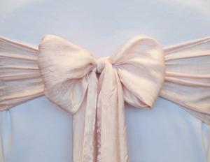 Vintage Pink Crushed Sash