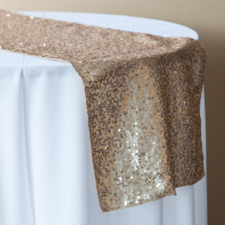 NEW! Gold Champagne Sequin