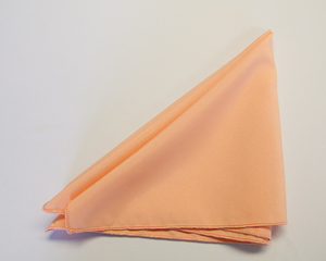 Peach Poly Napkin