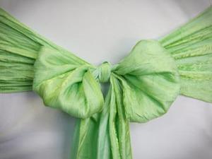 Green Apple Crushed Sash