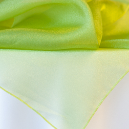 Chartruese Green Organza Topper