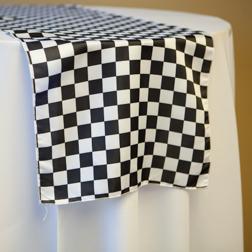 Black & White Check