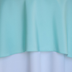 "Mint Green  Available In:  Rounds: 120""  Sqaures: 84""  Banquets: 90""x132""