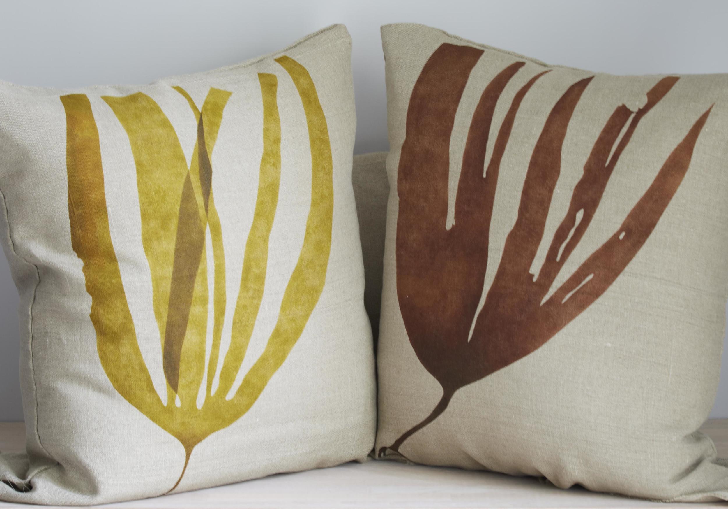 Seaweed cushions © Francesca Chalk