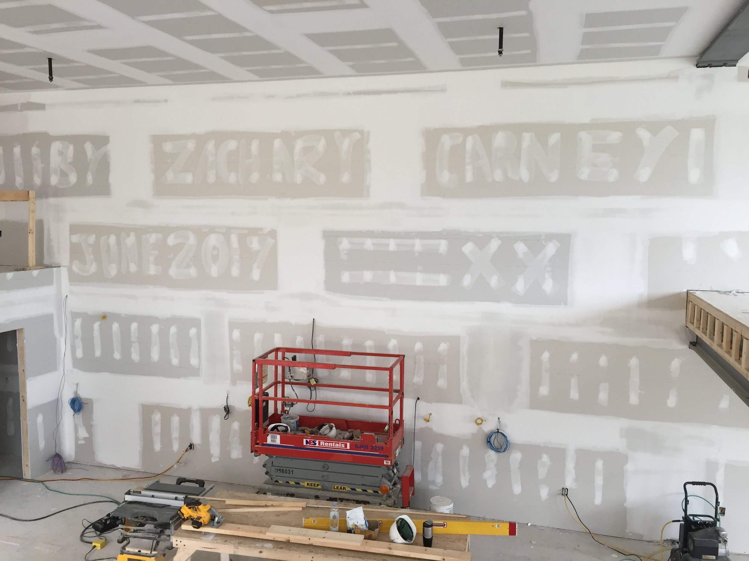 Drywall by Zachary Carney...love it!