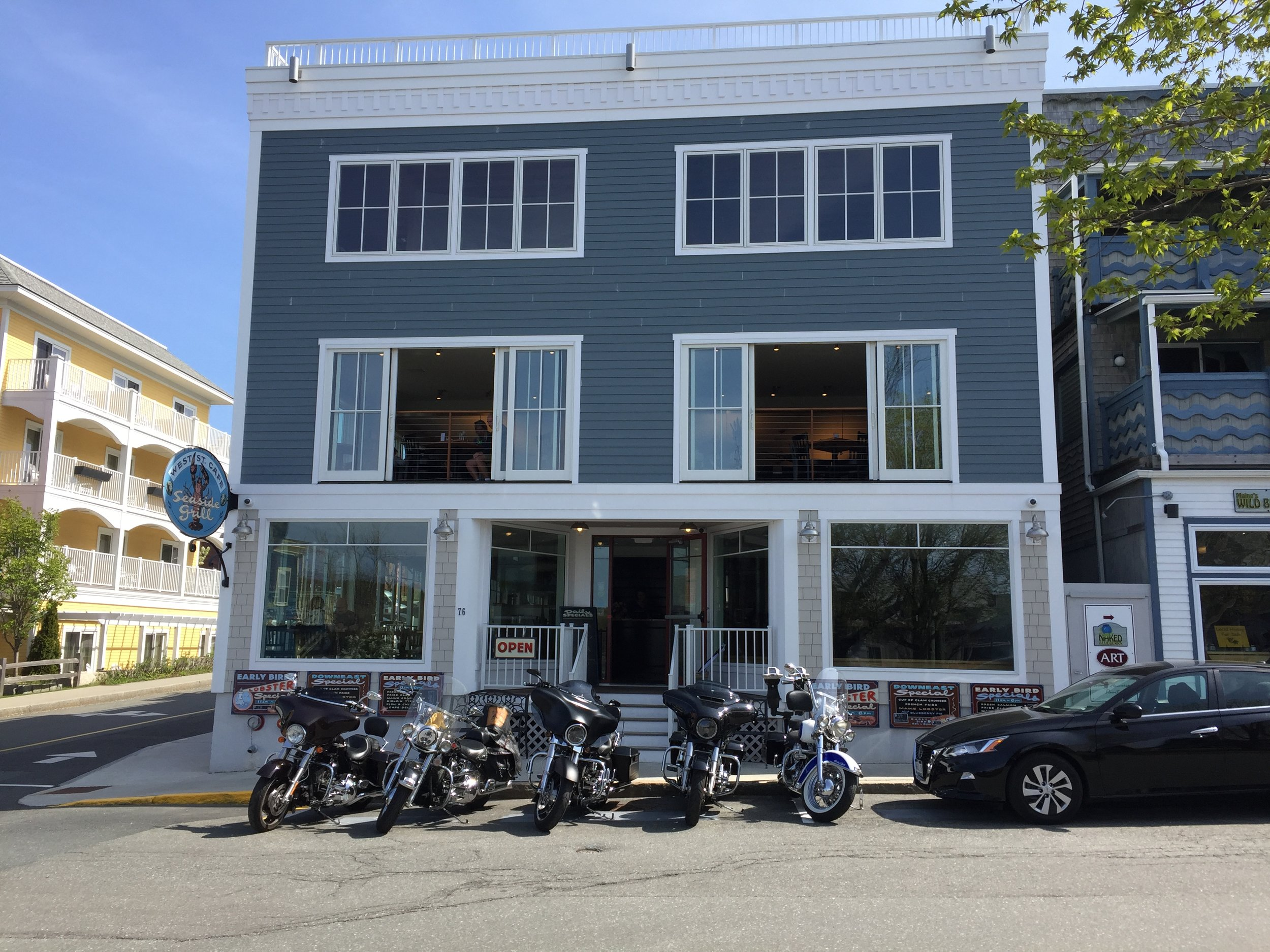 It's a beautiful day in Bar Harbor and a great day to go for a ride! Which one should I take?