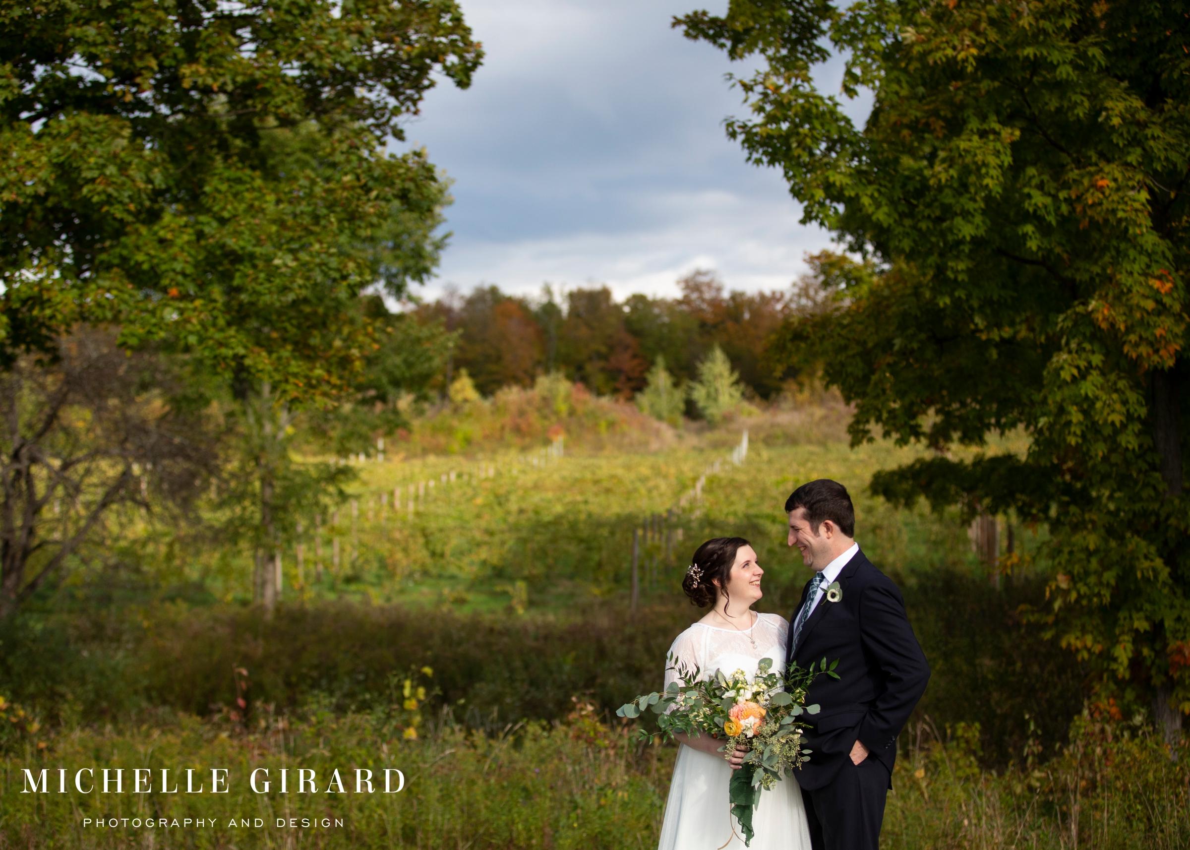 Owera Vineyards in Cazenovia, NY :: Fall Winery Wedding