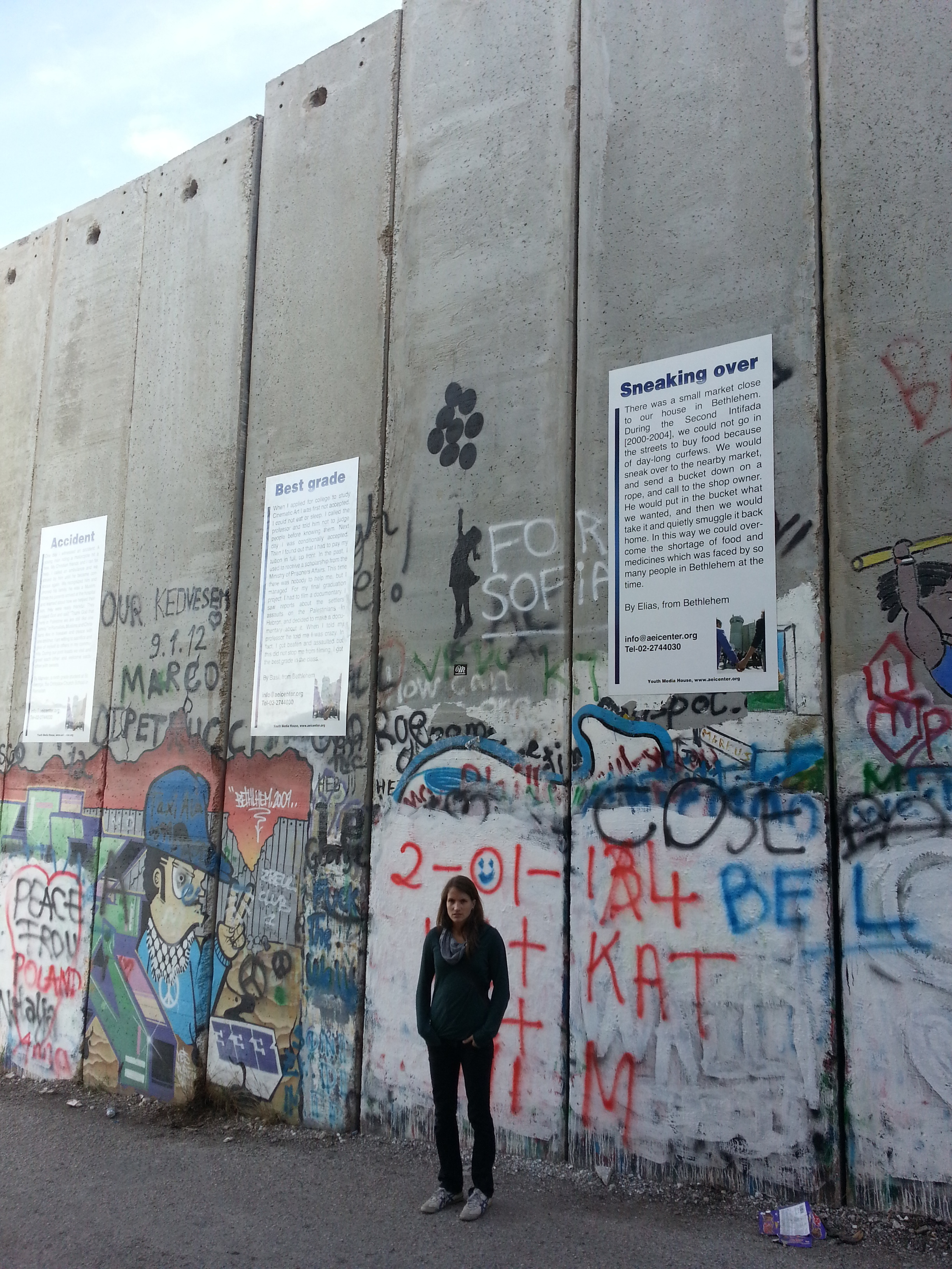 the wall in betlehem