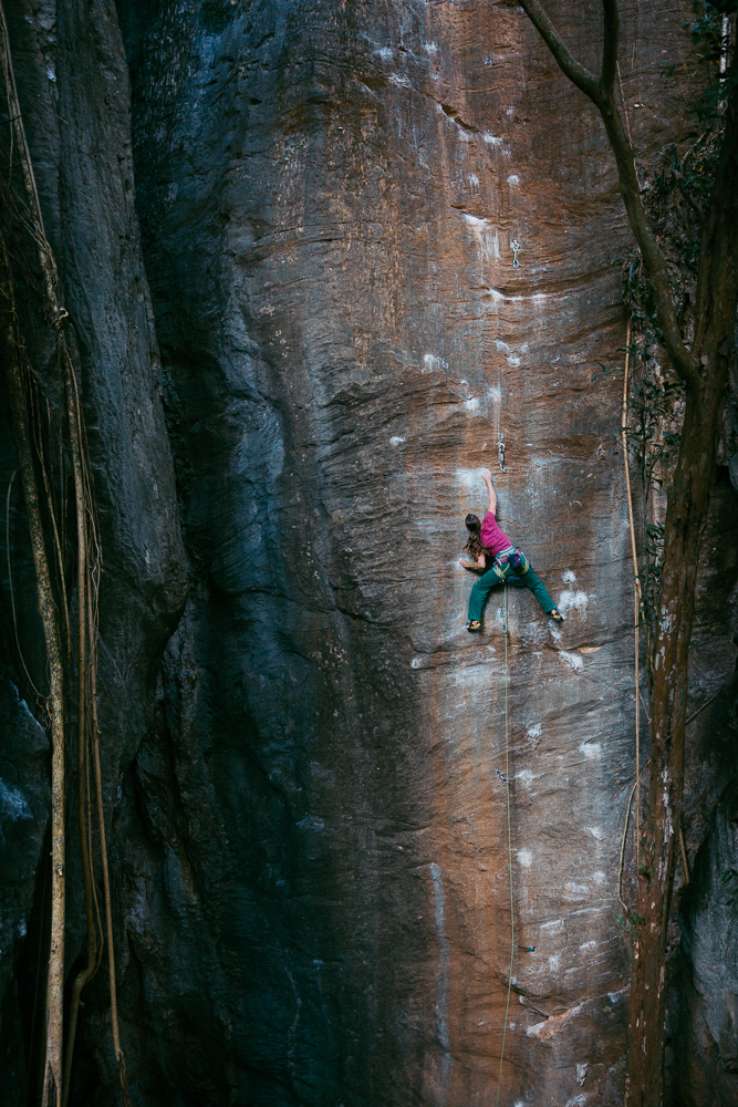 climbing in cipo  pic: fichtinger
