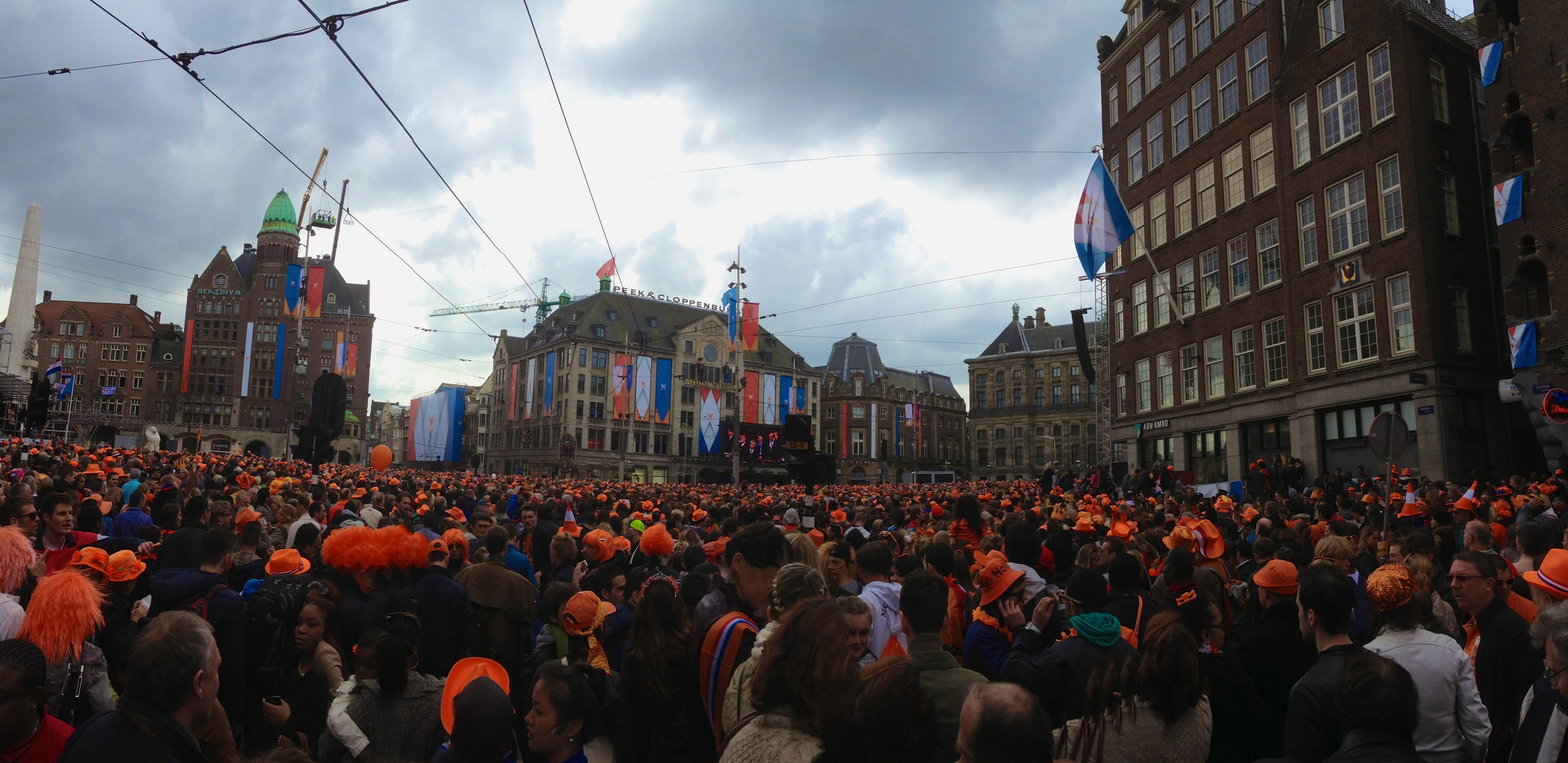 Inauguration of the new King of Holland, King Willem-Alexander