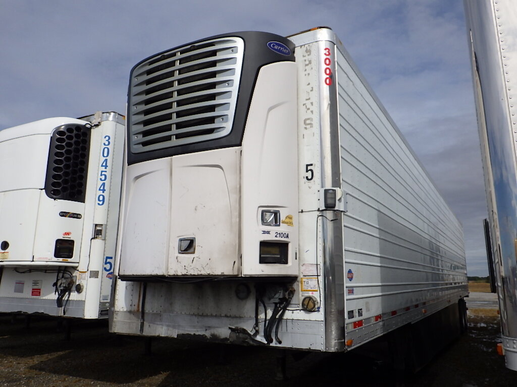 2012 Utility 3000R - Carrier Reefer 53X102 air ride swing doors