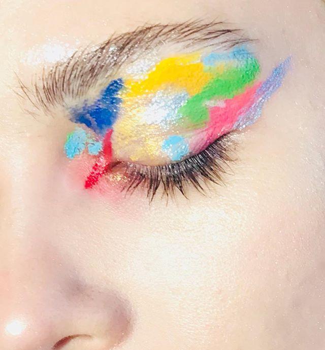 Still ♥️ @hannahfuchser #makeup by me