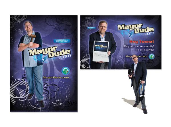 Mayor Outreach Print Campaign