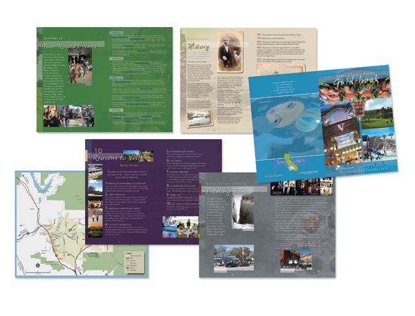 First Place, Printed Publications - Guides:  Santa Clarita Tourism Guidebook