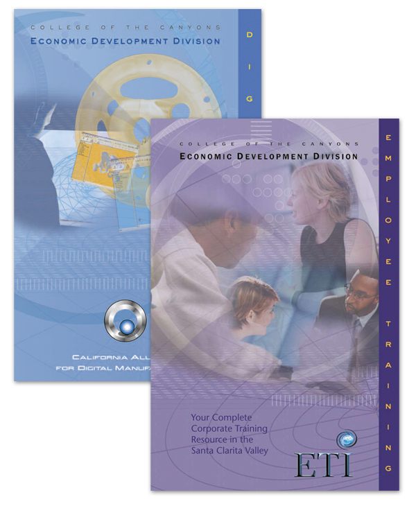 Brochures for College Technology Programs