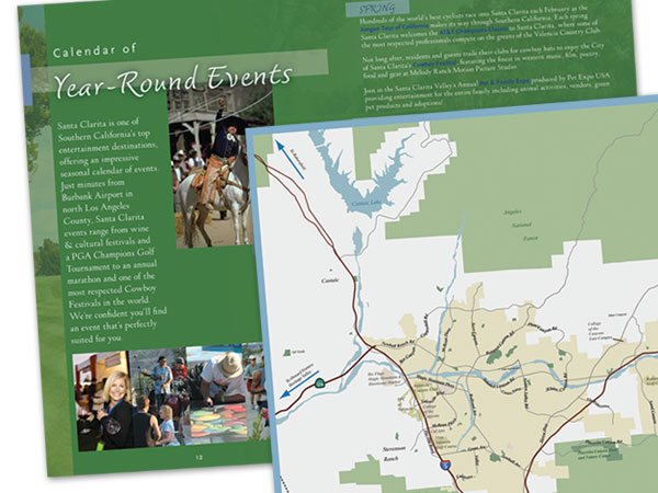 96-page Visitors' Guide for the Department of Tourism