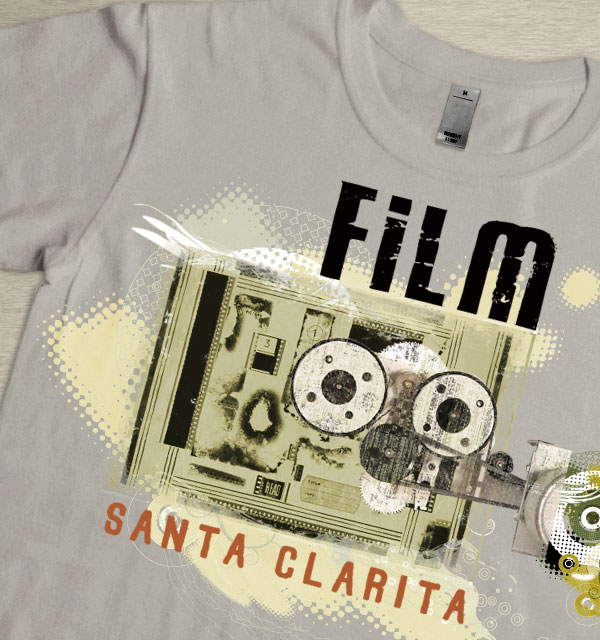 Merchandising Artwork for Film Office