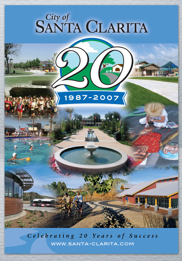 20th Anniversary Transit Shelter Poster