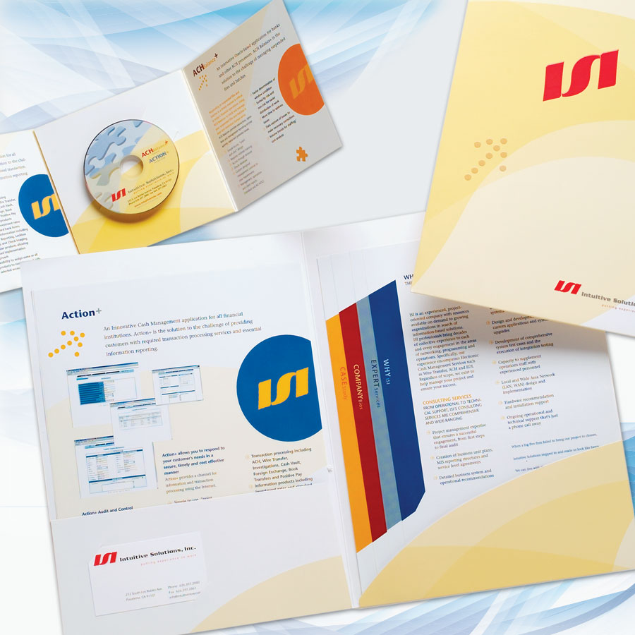 Trade Show Graphics, Collateral, Advertising, Press Kit and CD Packaging