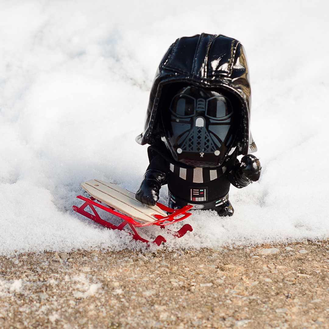 """I find your lack of snow.....disturbing !'"
