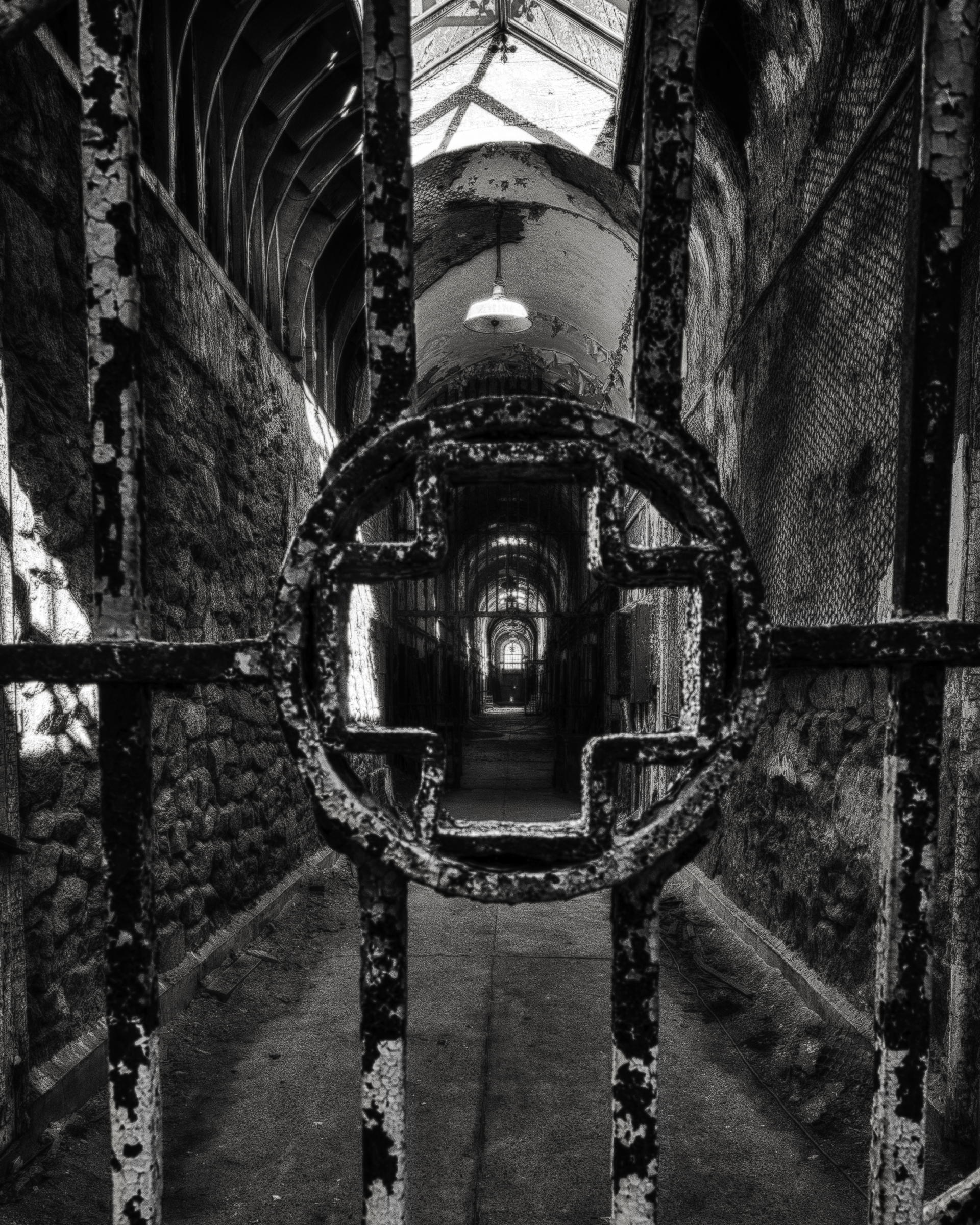 The Iron Cross. Eastern State Penitentiary