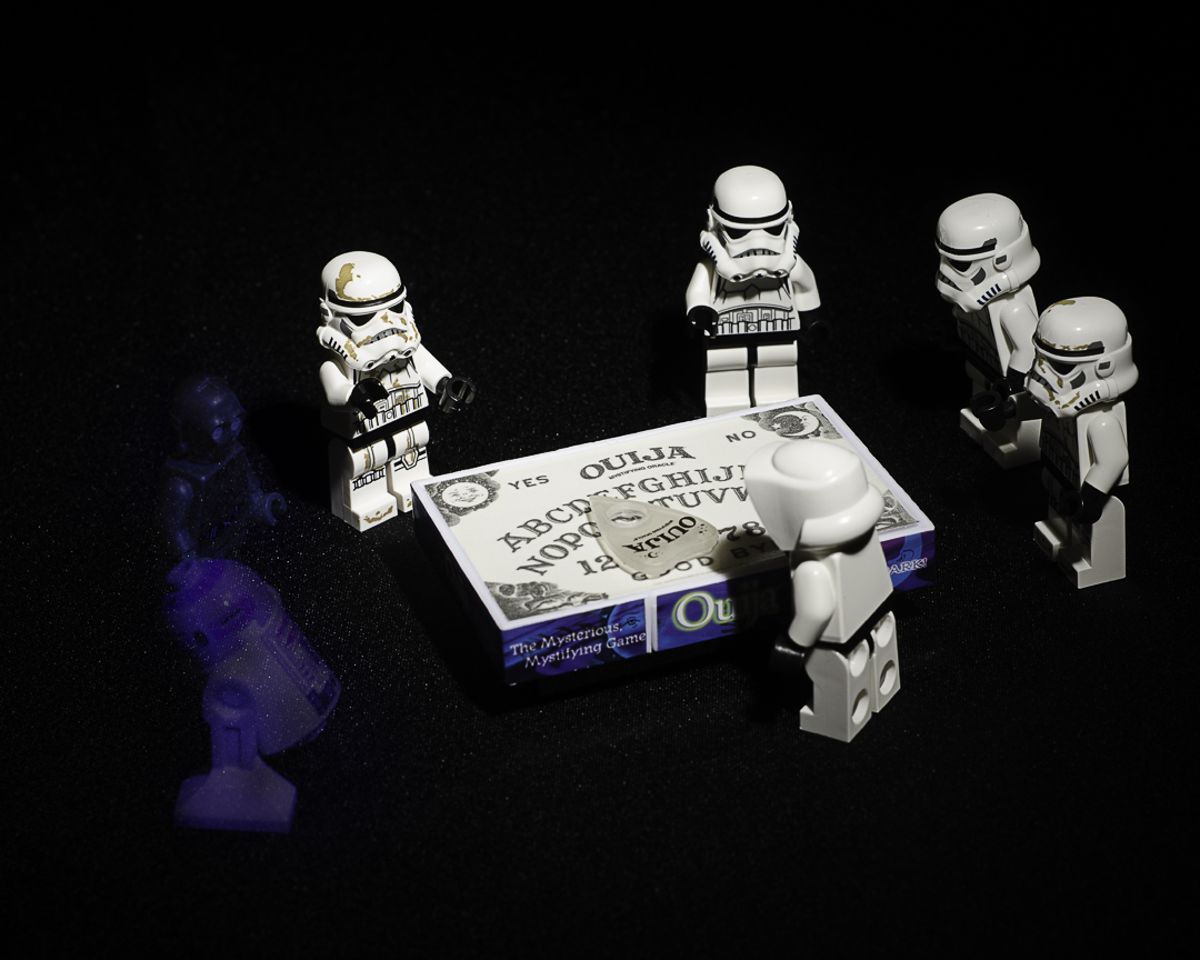 Ouija Board.  For when you just can't find the Droids you're looking for...