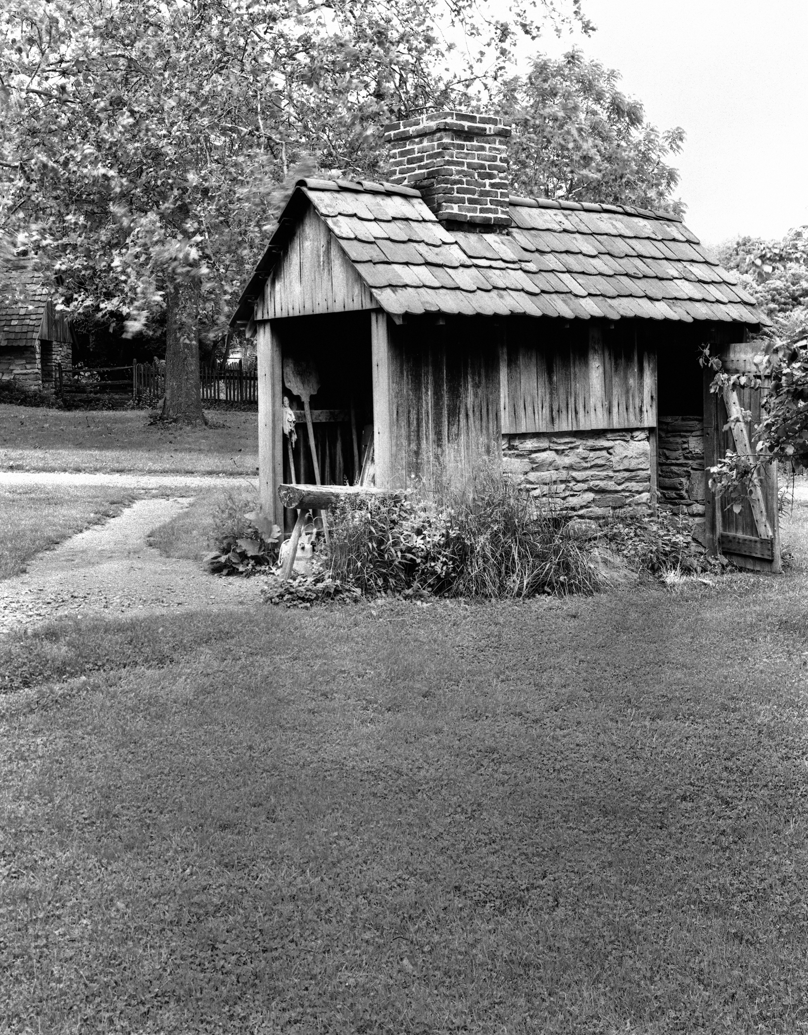 4x5_for_365_project_0172_Landis_Valley_tool_shed.jpg