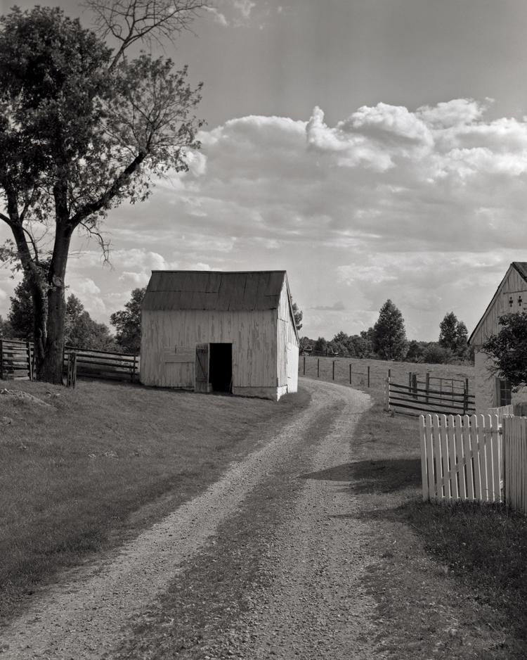 Joseph Poffenberger Farm. Antietam Battlefield. Sharpsburg, Maryland.