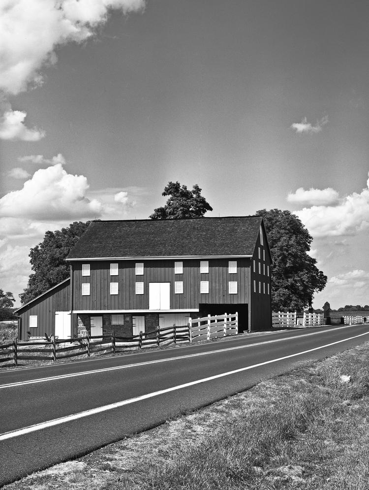 The Joseph Sherfy Farm at Gettysburg.