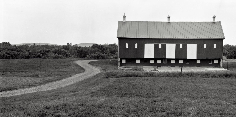 The barn at the Christian Keefer Thomas Farm. Monocacy Battlefield. Frederick, Maryland.