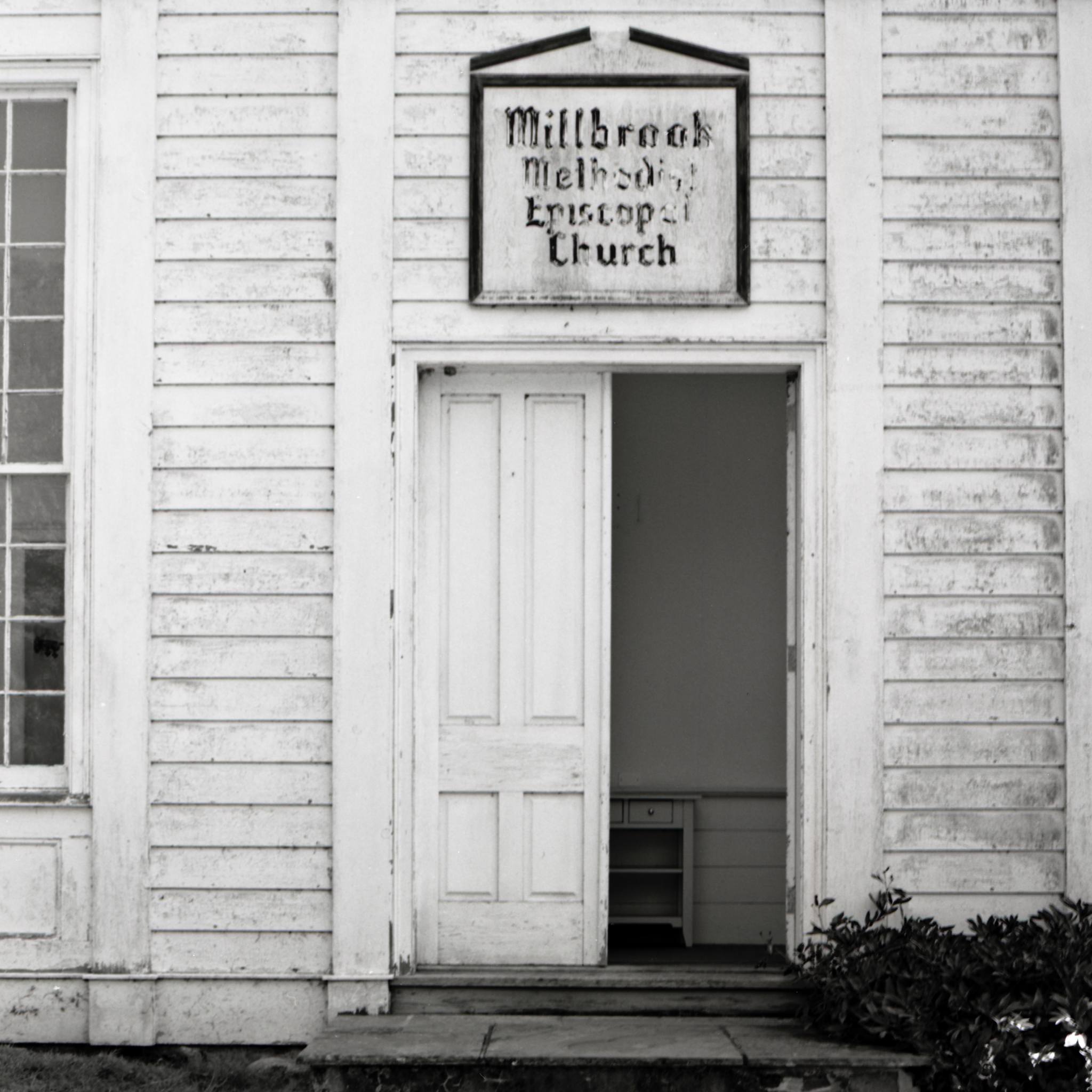 Millbrook Village Methodist Episcopal Church.  Hardwick, New Jersey.