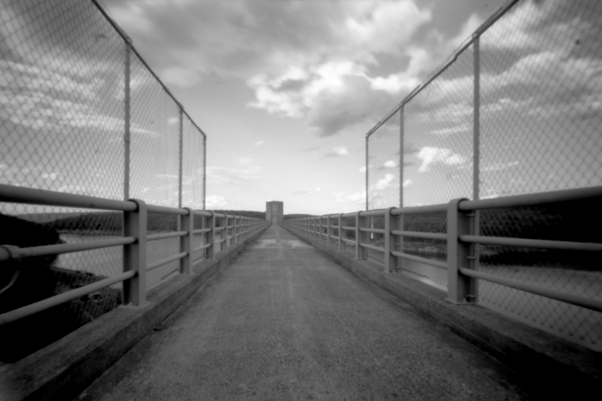Francis Walter Dam. Carbon County, Pennsylvania. Zero Image 6x9.