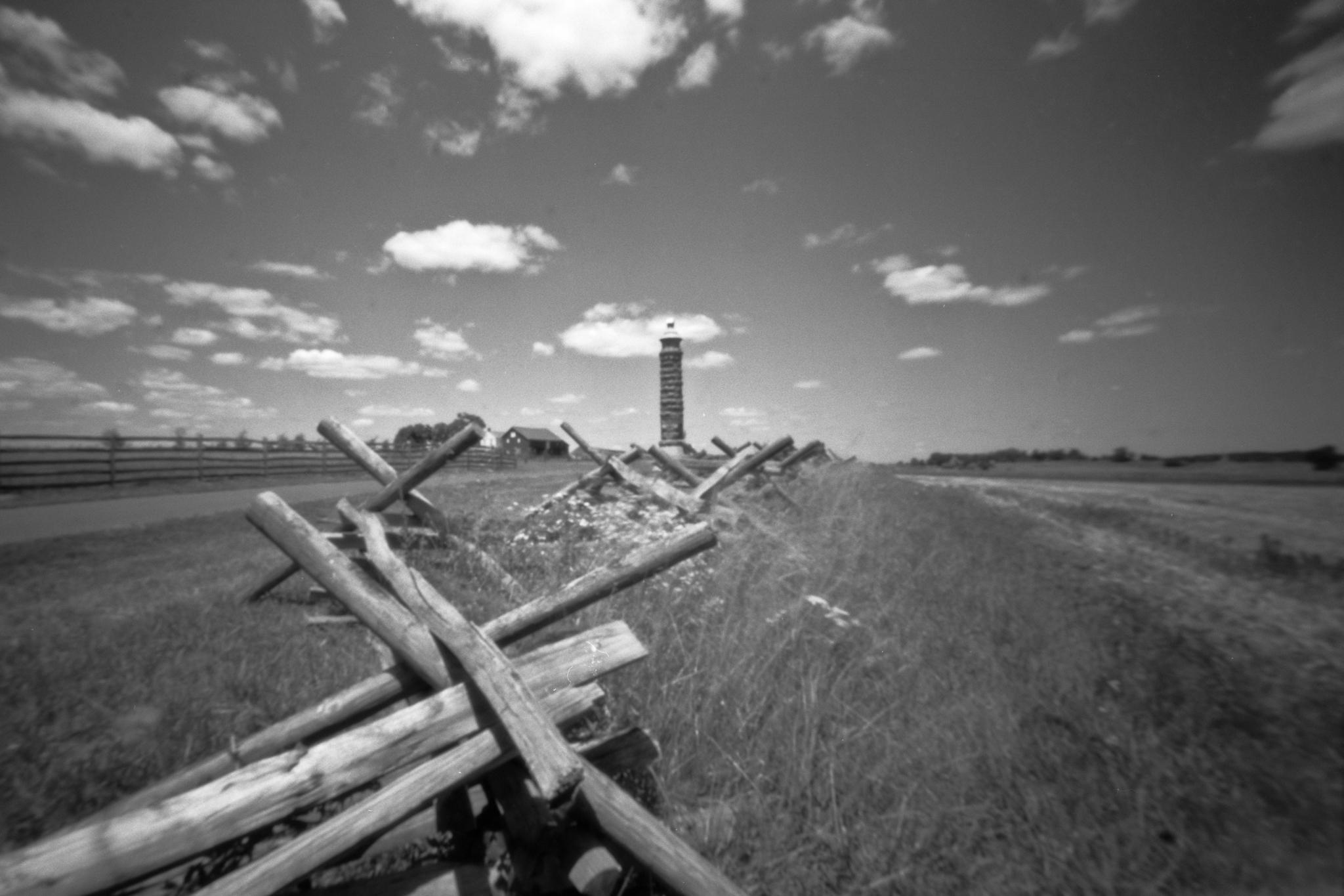 Gettysburg National Military park. Gettysburg, Pennsylvania. Zero Image 6x9.