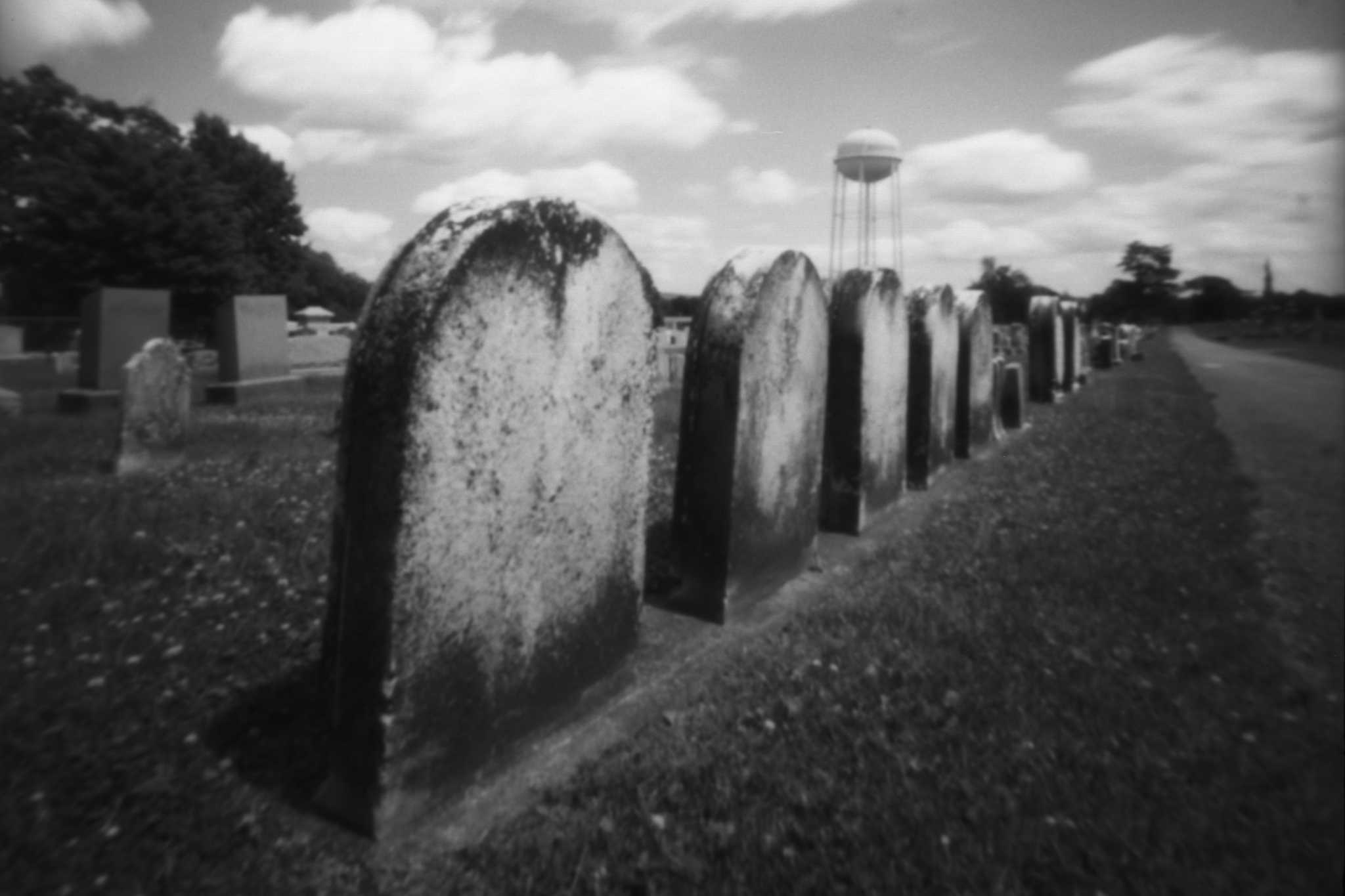 Fairview Cemetery. Kutztown, Pennsylvania. Zero Image 6x9.