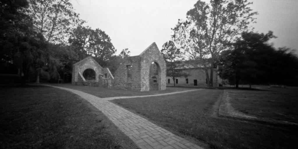 Lockridge Furnace ruins. Alburtis, Pennsylvania. Zero Image 6x18D in 6x12 mode.