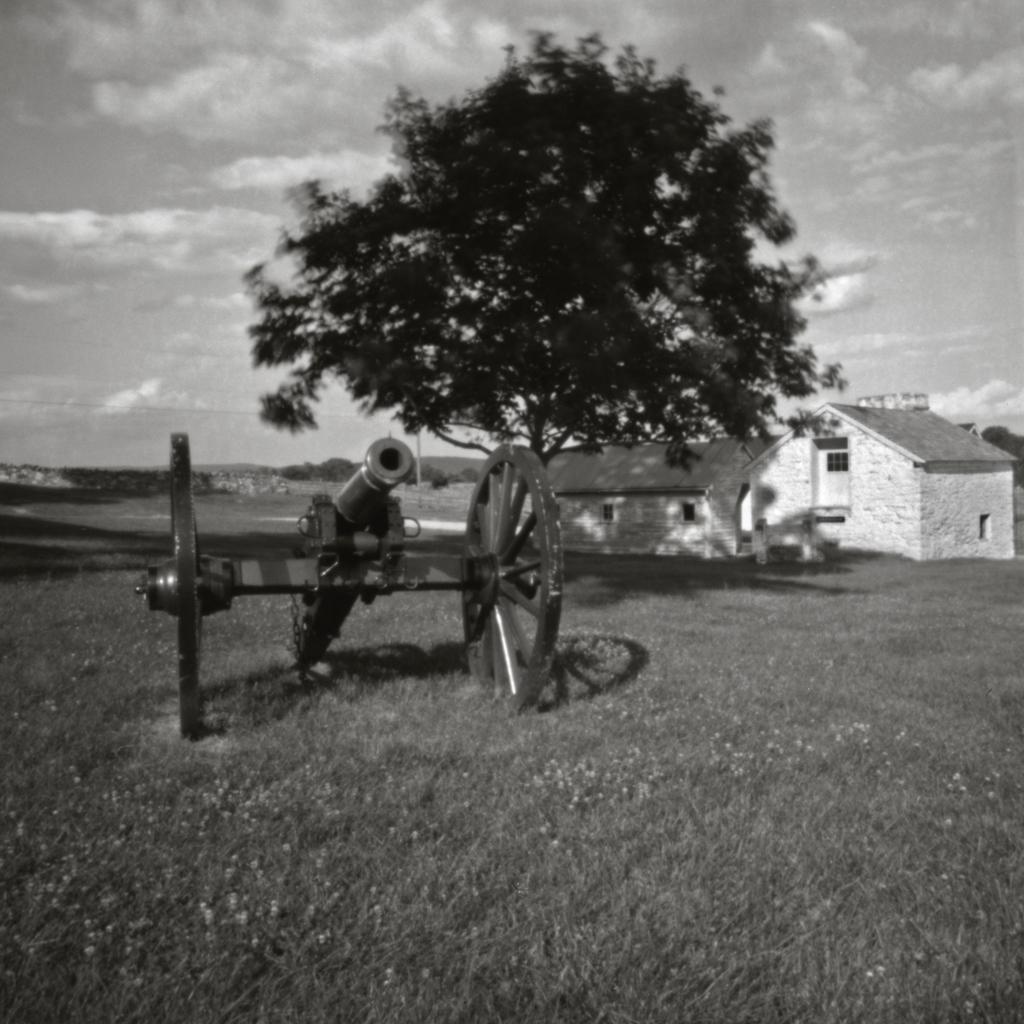 Mumma Farm on the Antietam National Battlefield. Zero Image 75mm 4x5.