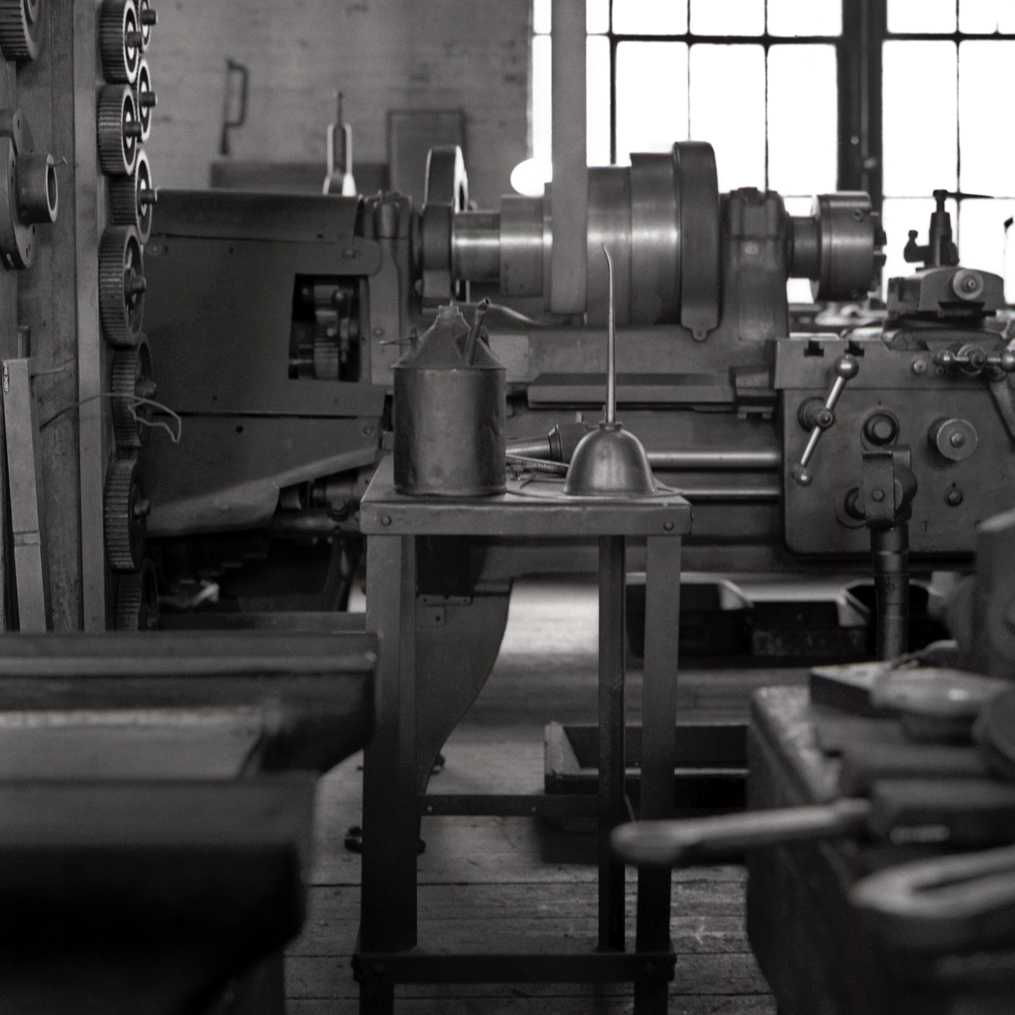 Machine shop.  Thomas Edison National Historic Park.  West Orange, New Jersey.