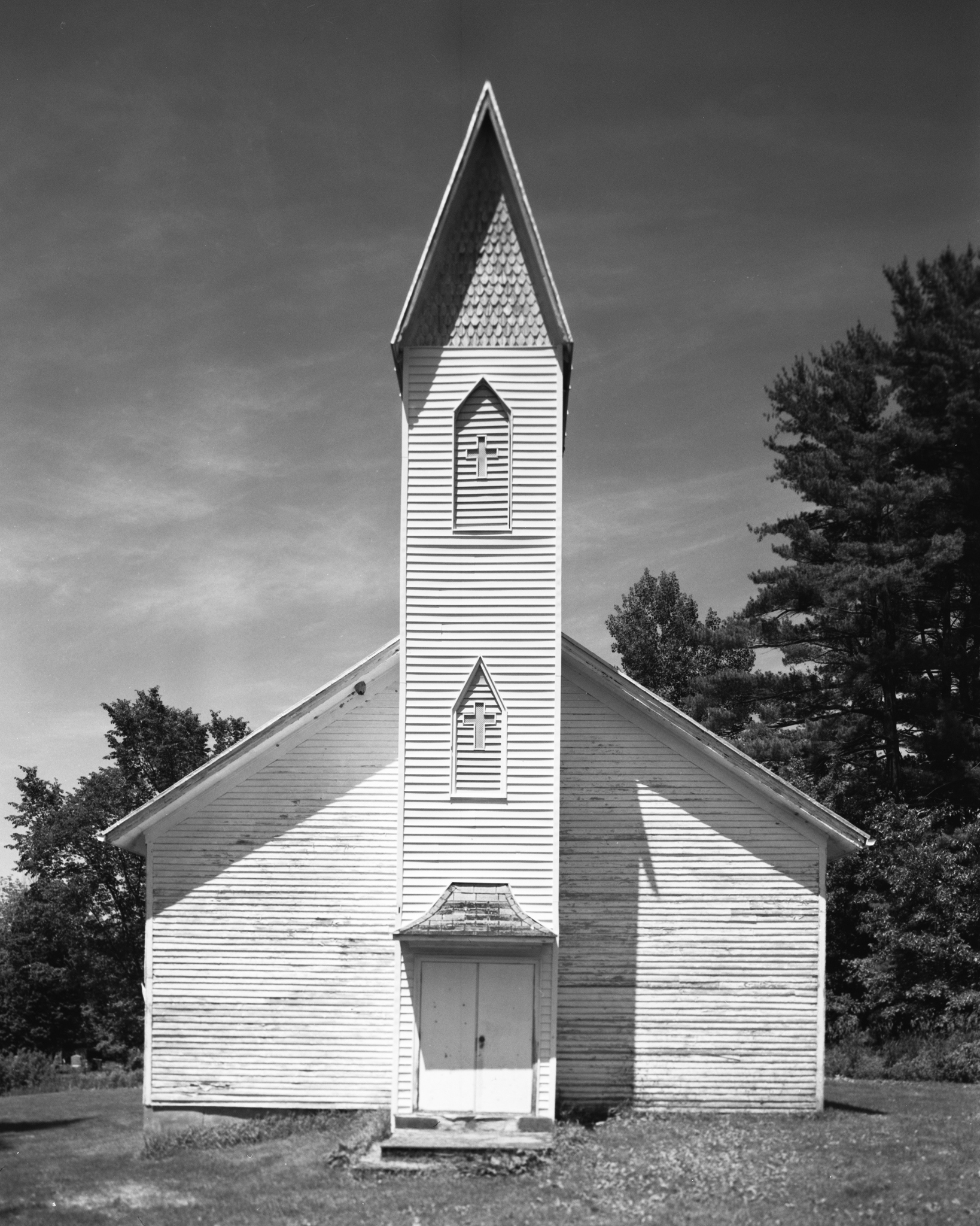 Old Germany Church.  Unityville, Pennsylvania.