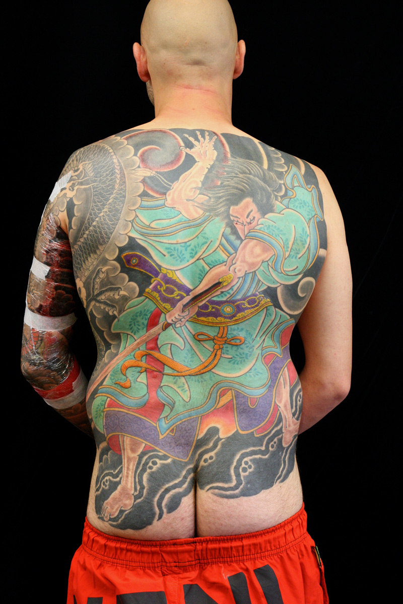 Samurai Tattoo Sydney Tattoos Rhys Gordon tattoos.JPG