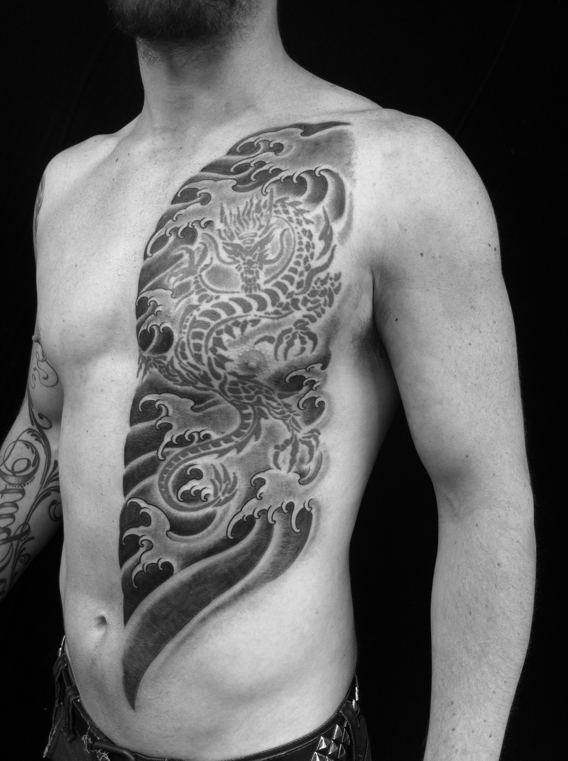 Water Tattoo Tribal tattoo Sydney tattoo Rhys Gordon.JPG